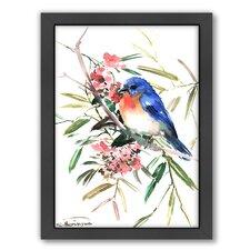 Bird by Suren Nersisyan Framed Painting Print