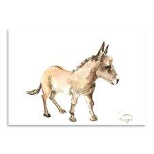 Donkey Painting Print