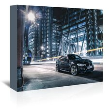 Car Black Photographic Print on Wrapped Canvas