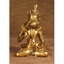 Brass Series Mother and Father Figurine
