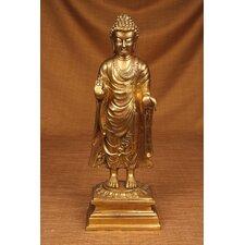 Brass Series Buddha Walking to Nirvana Figurine