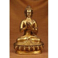 Brass Series Praying Buddha Figurine