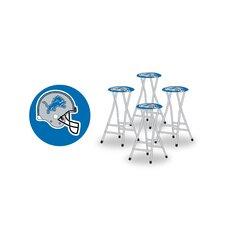 NFL Bar Stool with Cushion (Set of 4)