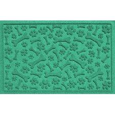 Aqua Shield Paw and Bones Doormat