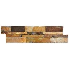 Random Sized Natural Stone Splitface Tile in Brown