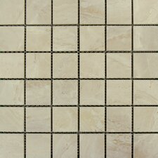 Pietra Onyx Porcelain Mosaic Tile in High Gloss