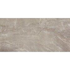"Pietra Pearl 12"" x 24"" Porcelain Field Tile in Gray"