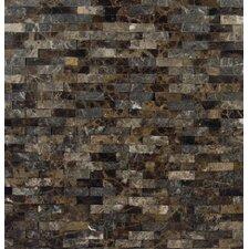 Emperador Marble Splitface Tile in Brown