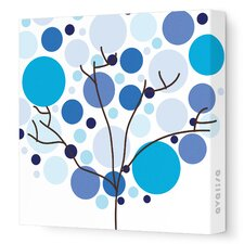 Imaginations Foliage Stretched Canvas Art