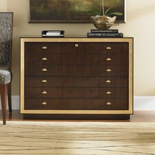 Bel Aire Beverly Palms 6-Drawer File Chest