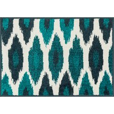 Terrace Ivory/Peacock Area Rug