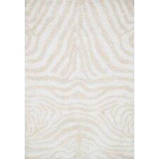 Kiara Shag Ivory & Cream Area Rug