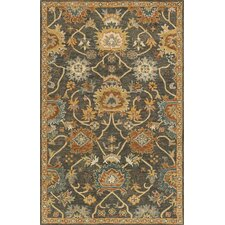Underwood Charcoal/Gold Area Rug
