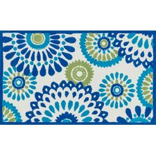 Zoey Blue/Green Area Rug