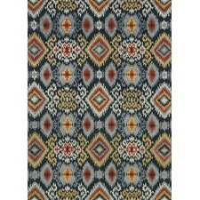 Leyda Hand-Tufted Midnight Area Rug