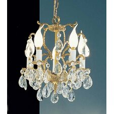 Barcelona 5 Light Crystal Chandelier