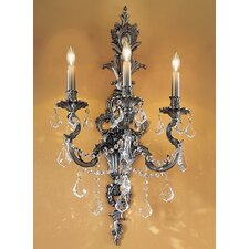 Majestic Imperial 3 Light Wall Sconce