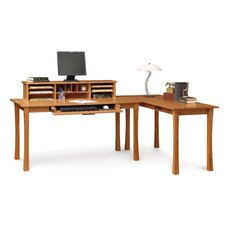 Berkeley Computer Desk with Keyboard Tray