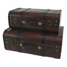 Rothschild 2 Piece Suitcase Trunk Set