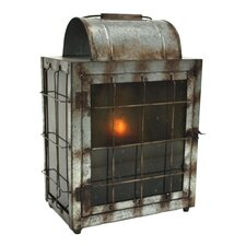 Cooper Metal and Glass Lantern