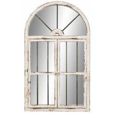Faux Window Wall Mirror