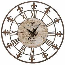 "Oversized 36"" Sun Dial Wall Clock"