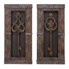 Key Wall Décor (Set of 2)