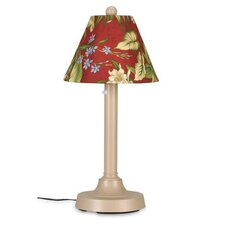 "San Juan 30"" Table Lamp in Black with Empire Shade"