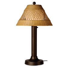 "Java 34"" H Table Lamp with Empire Shade"