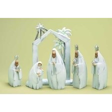 6 Piece Nativity Figurine Set