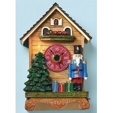 Nutcracker Figure Clock