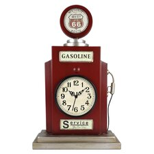 Gas Pump Shaped Table Clock