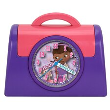 Doc McStuffins Quartz Analog Bank Alarm Clock