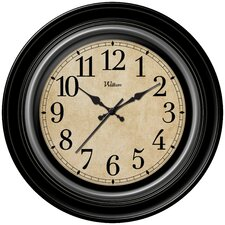 "12"" Quartz Analog Wall Clock"