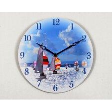 """16"""" Sail Boat Wall Clock"""