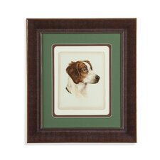 Danchin Brittany Spaniel Framed Painting Print