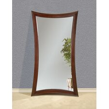 Hour-Glass Leaner Mirror