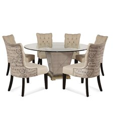 Borghese 5 Piece Dining Set