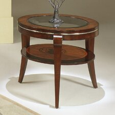 Ashland Heights Round End/inset glass