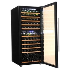 137 Bottle Dual Zone Free Standing Wine Refrigerator