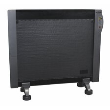1,500 Watt  Portable Electric Convection Panel Heater with Digital Display and Remote