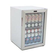 Beverage Refrigerator with Lock