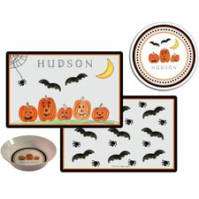 The Kids Tabletop 2 Piece Haunted Halloween Placemat Set