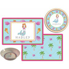 The Kids Tabletop 2 Piece Mermaid Placemat Set