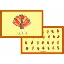The Kids Tabletop Tom Turkey Placemat