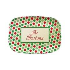 Everyday Tabletop Christmas Rectangular Platter