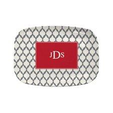 Everyday Tabletop Lattice Rectangular Platter