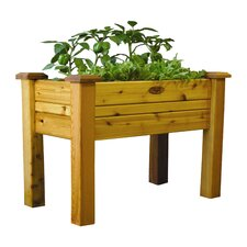 Elevated Garden Bed with Safe Finish