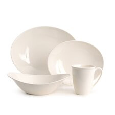 Key West White 16 Piece Dinnerware Set