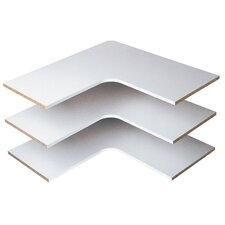 Corner Shelves (Set of 3)